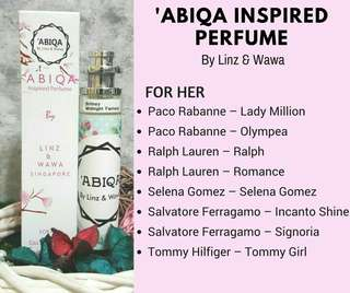 Abiqa Perfumes for woman