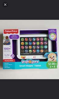 Brand new Fisher Price tablet