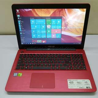 ASUS X556U RED