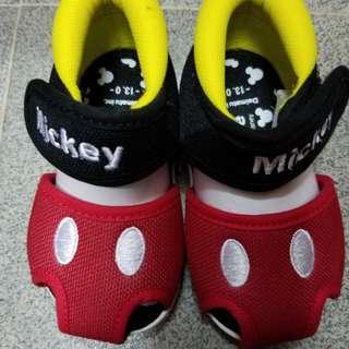 Mickey 米奇 Baby寶寶學行爬行鞋