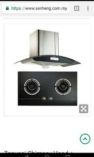 Zanussi hob and hood