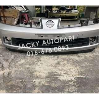 Front Bumper Depan Ori Nissan Latio C11 Tiida Jpn