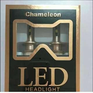 H11 dual color LED headlight
