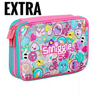 Smiggle DOUBLE Hardtop Pencil Case