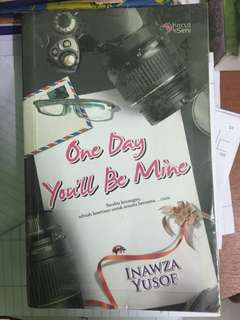 Novel 'One Day You'll Be Mine'
