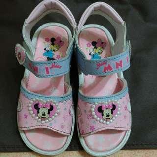 💐台灣製女童涼鞋18cm