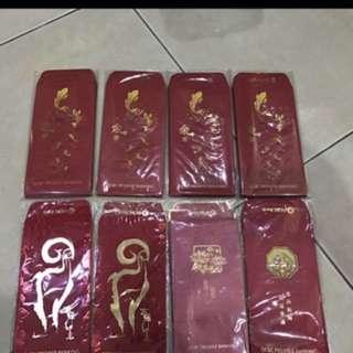 Ang Pow Packets Cny ocbc privilege premiercustimer red packet ang pai