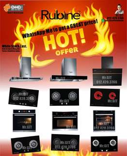 Branded kitchen Cooker Hobs & Hoods