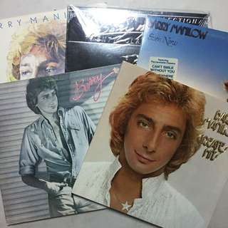 Barry Manilow Vinyl Records