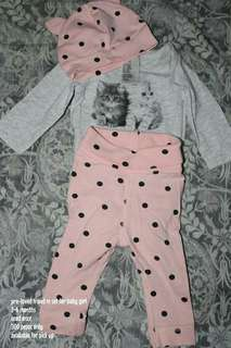 Pre loved baby set
