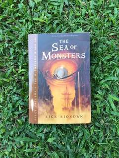 Pre-loved Book: Percy Jackson Sea of Monsters