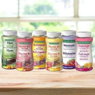🍓<Nature's Bounty 營養軟糖>🍓 6款 加拿大直送🇨🇦