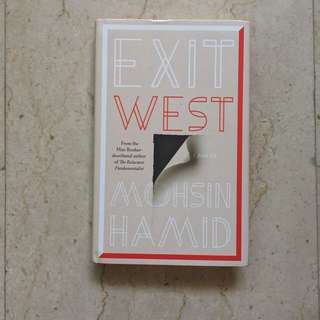 Brand New Hardbound Exit West by Mohsin Hamid