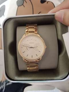 Fossil rosegold 1 week old