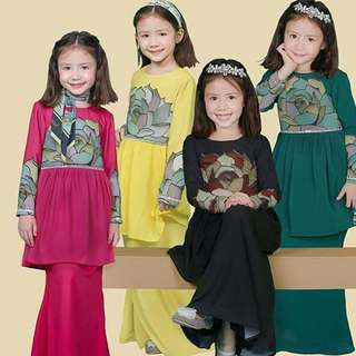 MINAZ ISABELLE LACEY FOR KIDS (GOLD/YELLOW)