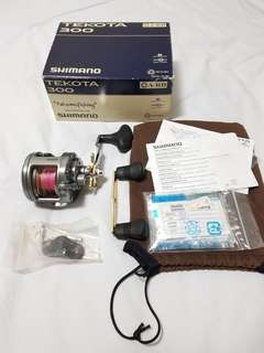 Shimano Tekota 300 Fishing Reel