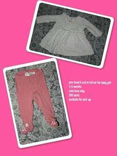 Pre love baby full set
