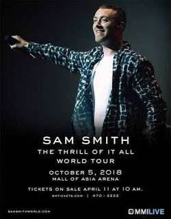SAM SMITH LOWER BOX A TICKETS