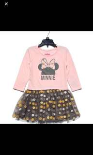 Brand new Disney Minnie dress brand new size for 4-5yrs old
