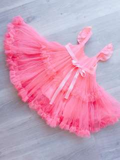 💖PINK Girl Tutu Skirt