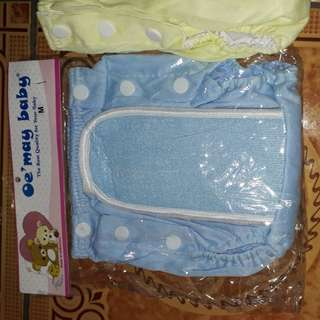 #take all# Pampers cuci ulang clodi polos ekonomis