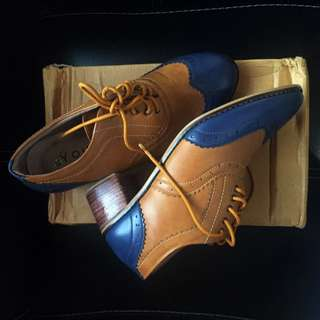 Youli Boat Leather Shoes