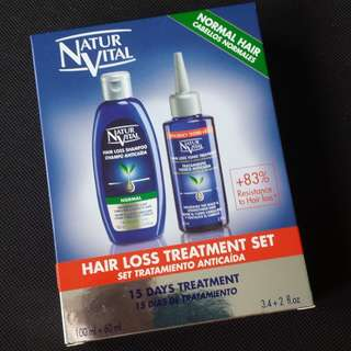 Natur Vital Hair Loss Treatment set (normal hair)