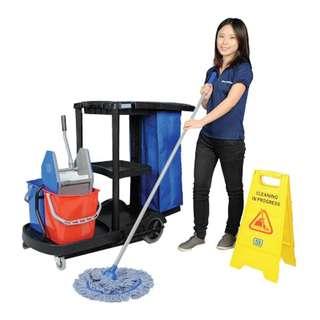 Fulltime cleaner at Sentosa indoor