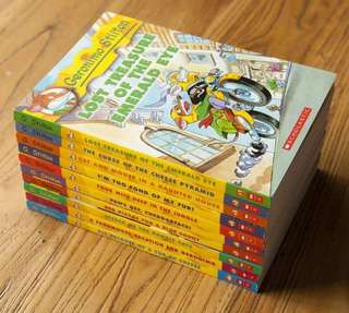#In Stock# Brand New Geronimo Stilton 1-10