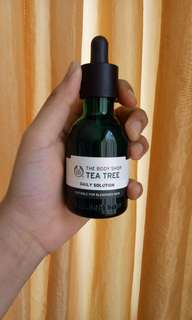 The body shop tea tree serum daily solution