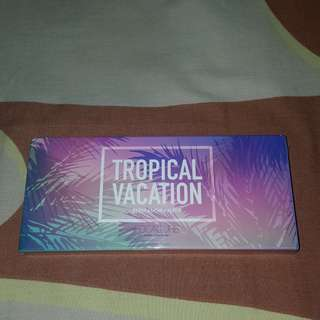 READY FREE ONGKIR NEW FOCALLURE TROPICAL VACATION EYESHADOW PALETTE