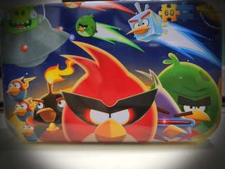 ANGRY BIRD PUZZLES IN A TIN