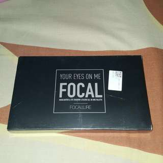 READY FREE ONGKIR NEW FOCALLURE YOUR EYES ON ME EYESHADOW PALETTE