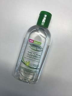 Simple Eye Make Up Remover