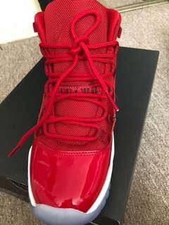 Air Jordan 11, cherry high tops, 6.5Y (W8), price negotiable