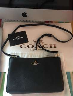 Authentic coach two way bag made in Vietnam