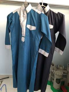 Jubah for boys age 5-6 years old.