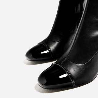 *price drop* Zara over the knee cap to boots