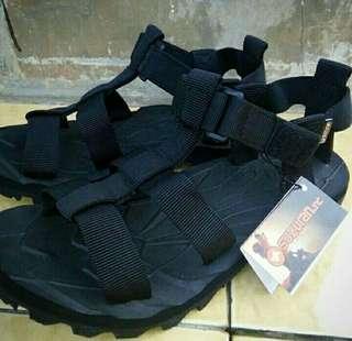 Sandal Gunung Suzuran Crosser Mr1 Full Black