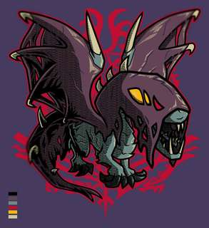 Pre-Order Vaal Hazak custom designed Monster Hunter World tee shirt