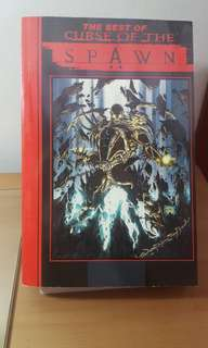 Spawn compilation comic book