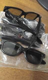 Real 3D Glasses 立體私人戲院眼鏡 - 6副