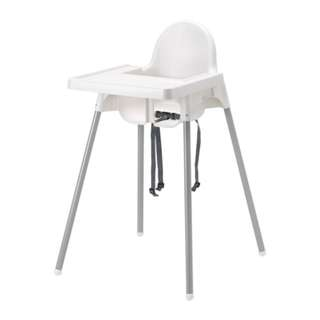 IKEA ANTILOP, Highchair with tray