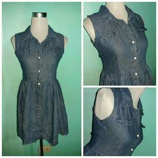 Denim Dress Small to Med