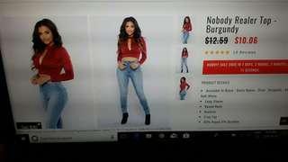 Fashion Nova crop top
