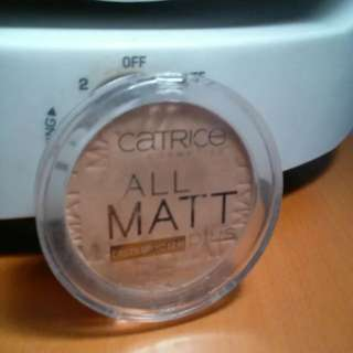 CATRICE ALL MATT POWDER!!