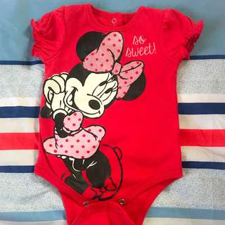 Minnie Mouse Romper (3-6 months)