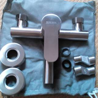SUS 304 Stainless Steel Mixer Shower Tap For SALE