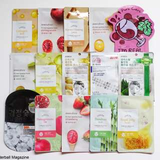 Looking for: Cheap Face Mask Sheets to Haul