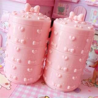 Pink ribbon casing